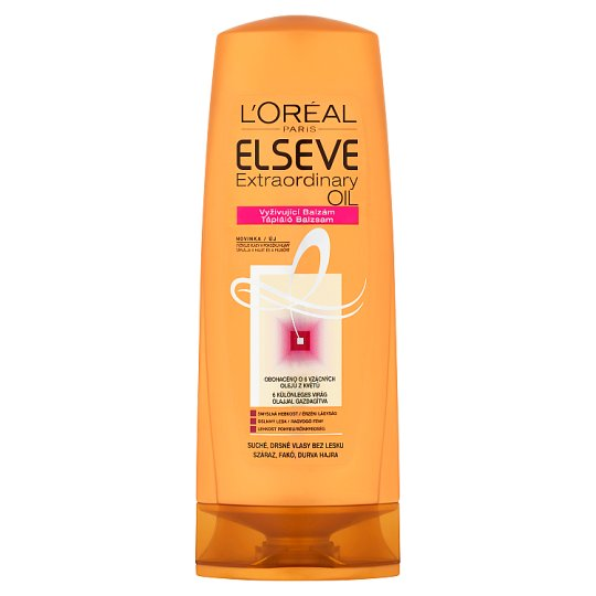 L'Oréal Paris Elseve Extraordinary Oil Nourishing Balm for Dry, Dull, Rough Hair 400 ml