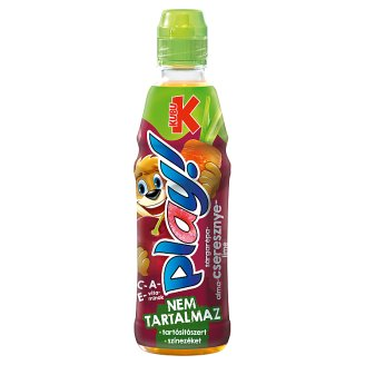 Kubu Play! Carrot-Apple-Cherry-Lime Drink 400 ml