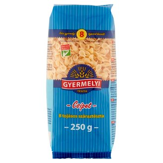 Gyermelyi Bow Dry Pasta with 8 Eggs 250 g