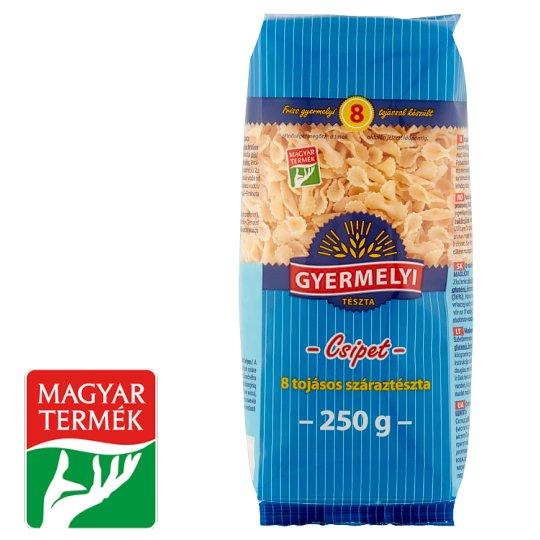 Gyermelyi Bow Dry Pasta with 8 Eggs 250 g