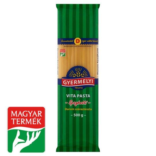 Gyermelyi Vita Pasta spagetti durum száraztészta 500 g