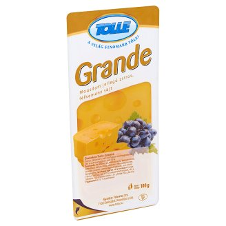 Tolle Grande Sliced Maasdam Type Fat, Semi-Hard Cheese 100 g