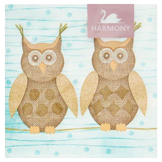Harmony Napkins 3 Ply 33 x 33 cm 20 pcs