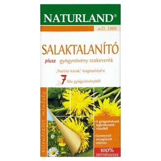 Naturland salaktalanító plusz gyógynövény teakeverék 20 filter 35 g