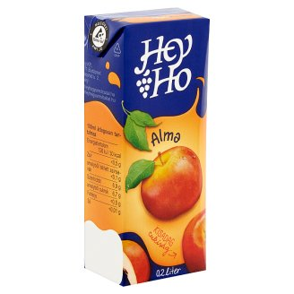 Hey-Ho Apple Drink with Sugar and Sweetener 0,2 l