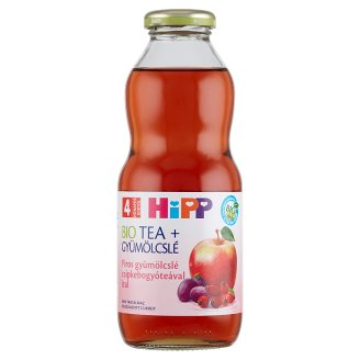 HiPP Organic Gluten-Free Red Fruits Nectar with Rosehip Tea Drink 4+ Months 0,5 l