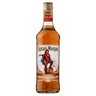 Captain Morgan Spiced Gold Spirit Drink with Caribbean Rum 35% 0,7 l