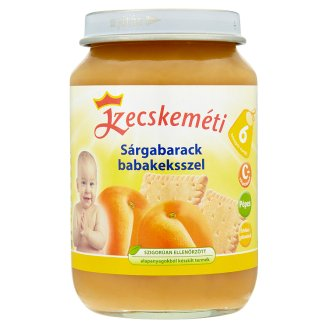 Kecskeméti Apricot with Baby Biscuits 6+ Months 190 g
