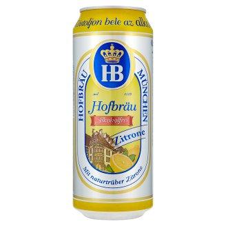 Hofbräu Zitrone Alcohol-Free 0,5% 0,5 l
