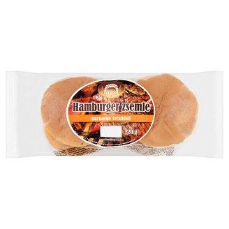 Kanizsa Pékség Barbecue Flavoured Hamburger Rolls 220 g