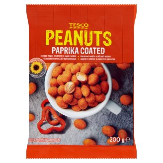 Tesco Paprika Coated Peanuts 200 g
