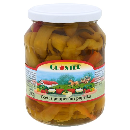 Gloster ecetes pepperóni paprika 680 g