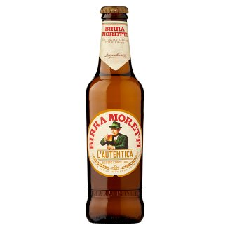 Birra Moretti Lager Beer 4,6% 0,33 l
