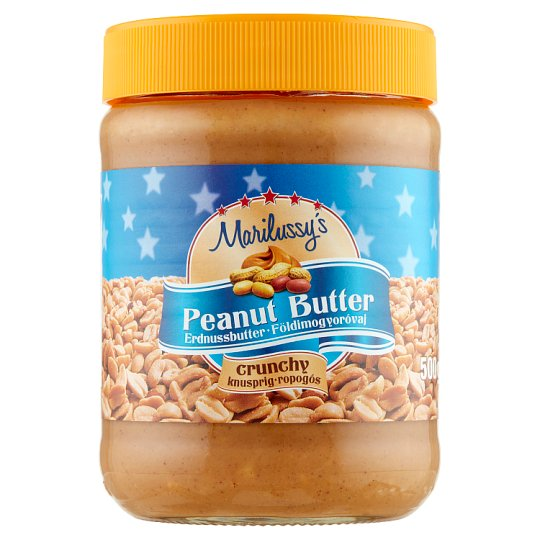 Marilussy's Peanut Butter with Peanut Pieces 500 g
