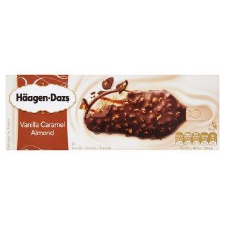 Häagen-Dazs vanília jégkrém belga csokoládéval, karamell öntettel és mandulával 80 ml