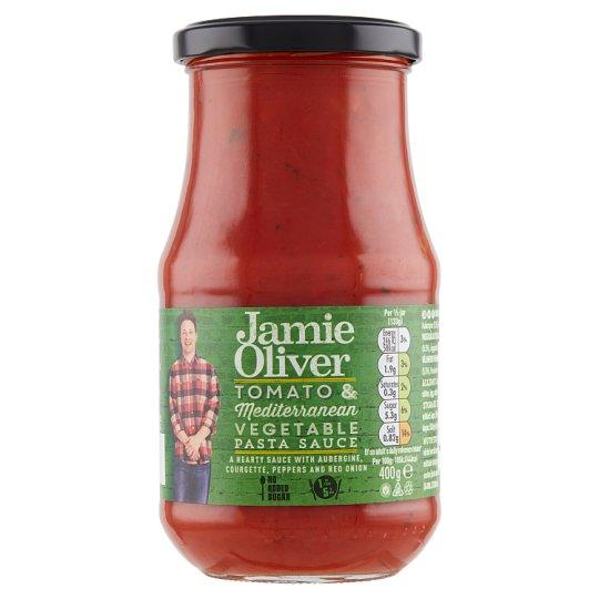 Jamie Oliver paradicsom és mediterrán zöldséges tésztaszósz 400 g