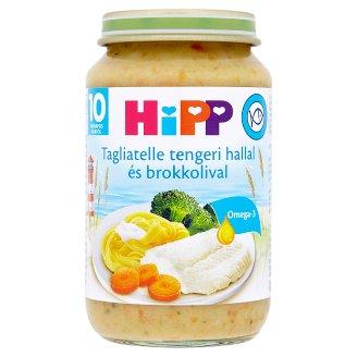 HiPP tagliatelle tengeri hallal és brokkolival bébiétel 10 hónapos kortól 220 g
