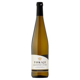 Tokaji Aranyfürt Cuvée Sárgamuskotály-Furmint félédes fehérbor 10,5% 0,75 l