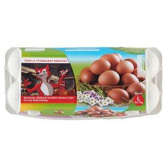 Fuchs extra sárga tojás L 10 db