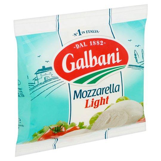 Galbani Light Semi-Fat, Soft Mozzarella Cheese in Brine 125 g