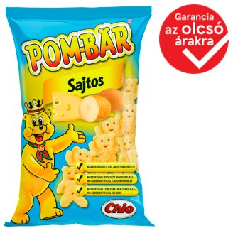 Pom-Bär Cheese Flavoured Potato Snack 50 g