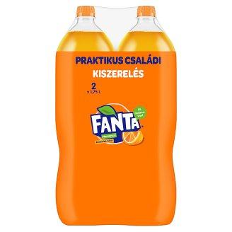 Fanta Narancs szénsavas üdítőital 2 x 1,75 l