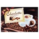 Charlotte étcsokoládéval bevont desszert kávés-tejszínes ízű töltelékkel 226 g