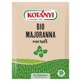 Kotányi BIO morzsolt majoranna 4 g