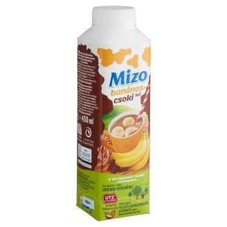 Mizo Banana-Chocolate Flavoured Low-Fat Milk Drink 450 ml
