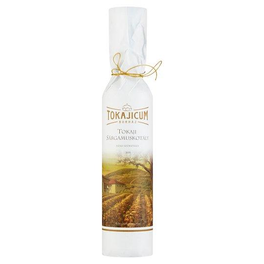 Tokajicum Tokaji Sárgamuskotály édes fehérbor 9,5% 0,5 l