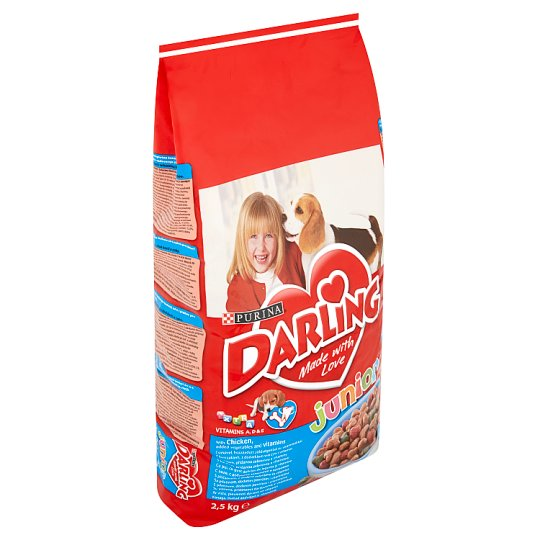 Darling Junior Complete Pet Food with Chicken for Puppies 6 Weeks+ 2,5 kg