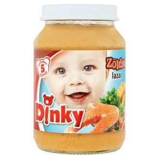 Dinky Gluten-Free Salmon with Vegetables Food for Babies 5+ Months 190 g