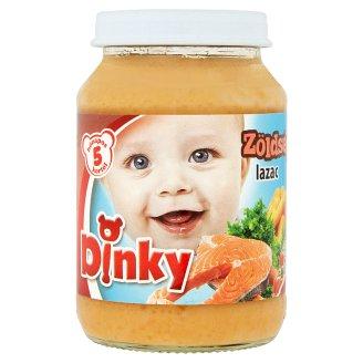 Dinky gluténmentes zöldséges lazac bébiétel 5 hónapos kortól 190 g