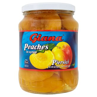 Giana Peaches in Syrup 700 g