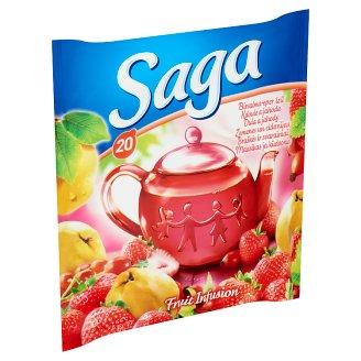 Saga Quince-Strawberry Flavoured Fruit Tea 20 Tea Bags