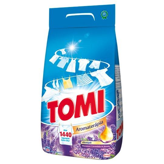 Tomi Aromaterápia Essential Oils Provence Lavender and Jasmine Powder Detergent 60 Washes 4,2 kg