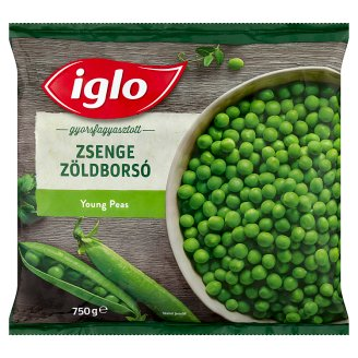 Iglo Quick-Frozen Young Peas 750 g