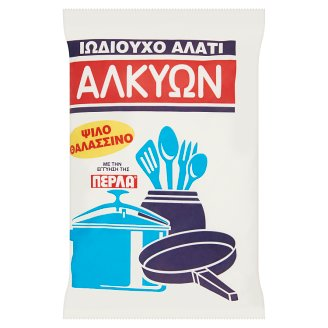 Alkyon Refined Iodized Greek Sea Salt 1000 g