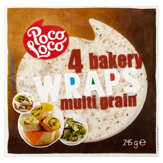 Poco Loco Multi Grain Wraps 245 g
