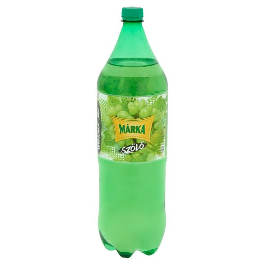 Márka White Grape Carbonated Soft Drink with Sugar and Sweeteners 2 l