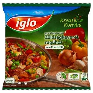 Iglo Kreatív Konyha gyorsfagyasztott zöldségkeverék raguhoz 400 g