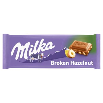Milka Alpine Milk Chocolate with Hazelnuts 100 g