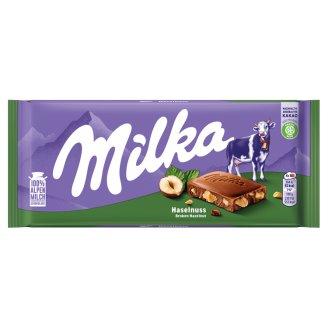 Milka alpesi tejcsokoládé törtmogyoróval 100 g