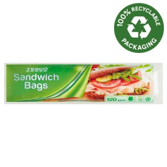 Tesco Sandwich Bags 120 pcs