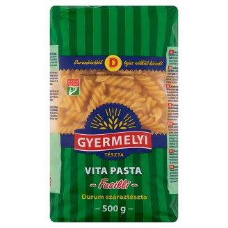 Gyermelyi Vita Pasta Spindle Durum Wheat Dry Pasta 500 g