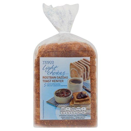 Tesco Light Choices Rich in Fibre Toast Bread 350 g