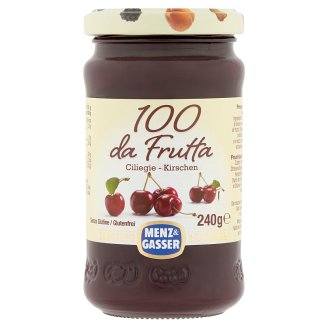 Menz & Gasser Special Quality Cherry Jam in Jar 240 g