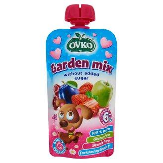Ovko Baby Food Garden Mix without Added Sugar 6+ Months 120 g