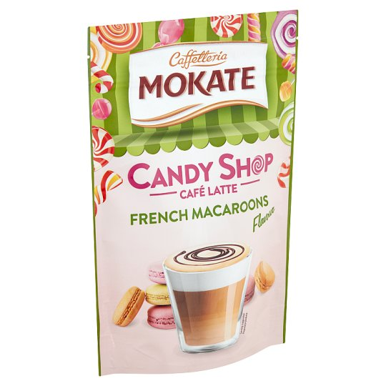 Mokate Café Latte Candy Shop French Macaroni Taste Coffee Drink Powder 110 g