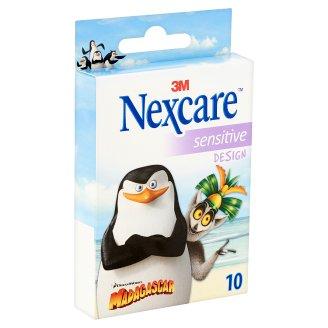 Nexcare Sensitive gyengéd sebtapasz gyermekek számára 10 db
